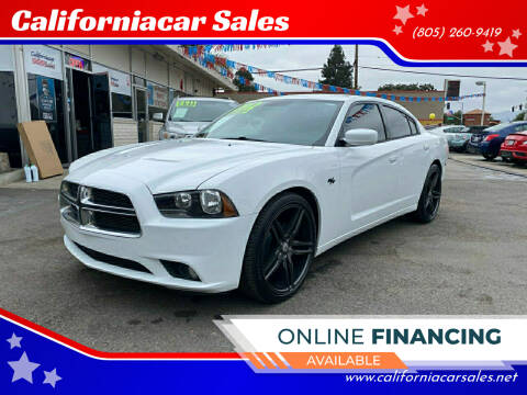 2012 Dodge Charger for sale at Californiacar Sales in Santa Maria CA