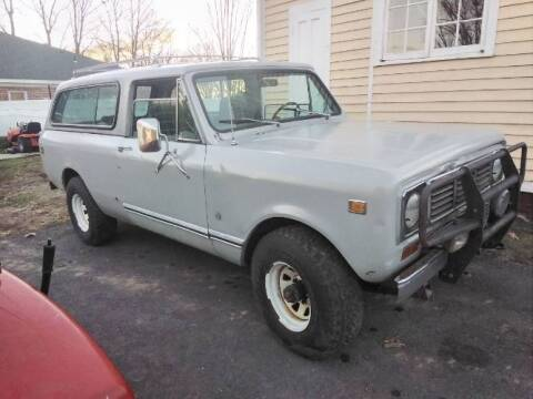 1978 International Scout for sale at Classic Car Deals in Cadillac MI