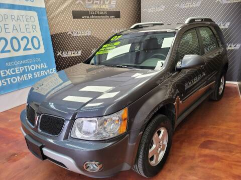 2007 Pontiac Torrent for sale at X Drive Auto Sales Inc. in Dearborn Heights MI