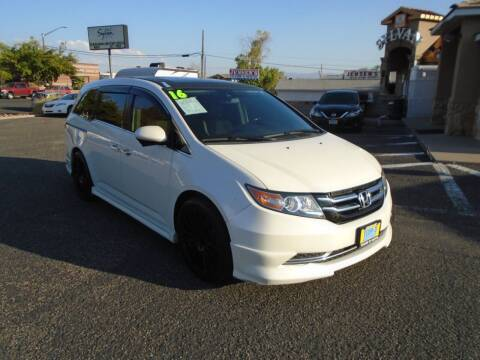 2016 Honda Odyssey for sale at Team D Auto Sales in Saint George UT