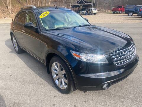 2004 Infiniti FX35 for sale at Worldwide Auto Group LLC in Monroeville PA