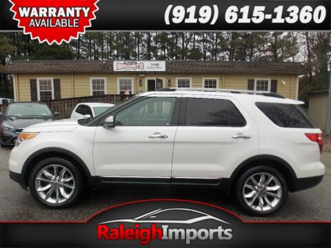 2011 Ford Explorer for sale at Raleigh Imports in Raleigh NC