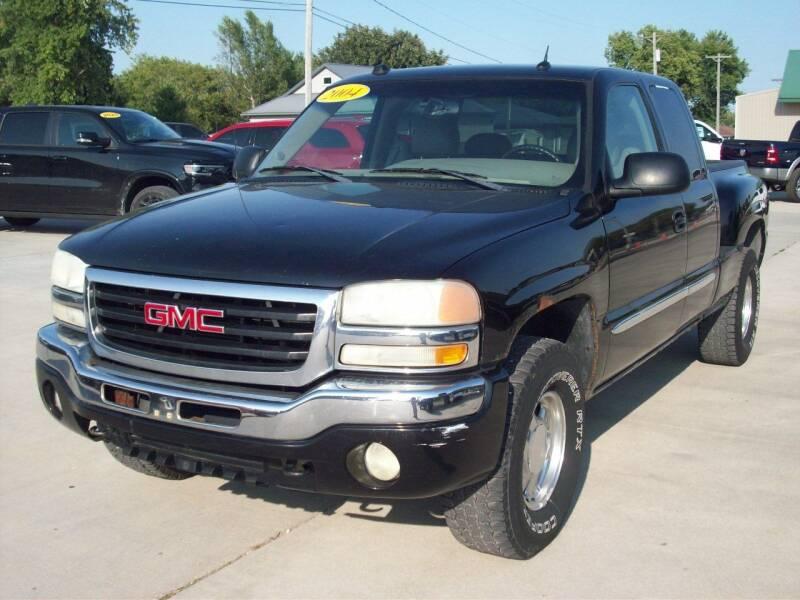2004 GMC Sierra 1500 for sale at Nemaha Valley Motors in Seneca KS