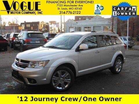 2012 Dodge Journey for sale at Vogue Motor Company Inc in Saint Louis MO