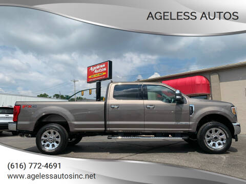 2019 Ford F-250 Super Duty for sale at Ageless Autos in Zeeland MI