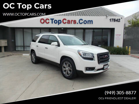 2015 GMC Acadia for sale at OC Top Cars in Irvine CA