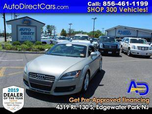 2009 Audi TT for sale at Auto Direct Trucks.com in Edgewater Park NJ