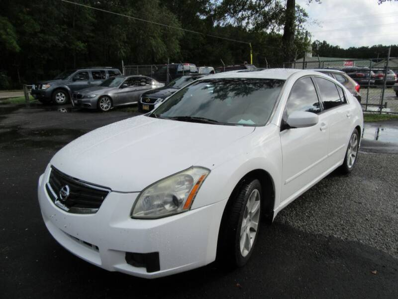 2008 Nissan Maxima for sale at Bullet Motors Charleston Area in Summerville SC