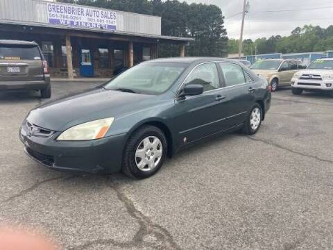 2005 Honda Accord for sale at Greenbrier Auto Sales in Greenbrier AR