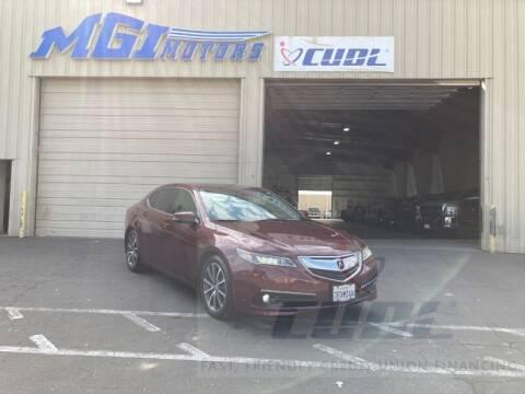 2015 Acura TLX for sale at MGI Motors in Sacramento CA