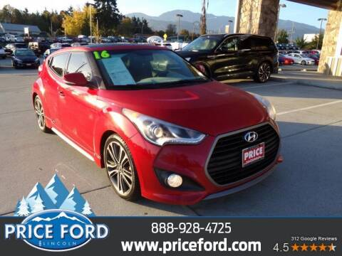 2016 Hyundai Veloster for sale at Price Ford Lincoln in Port Angeles WA