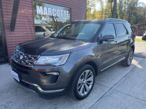 2018 Ford Explorer for sale at Marcotte & Sons Auto Village in North Ferrisburgh VT