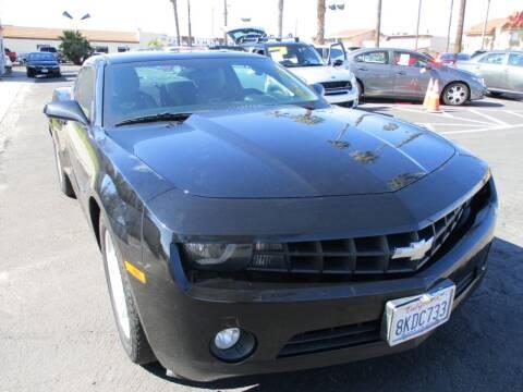 2012 Chevrolet Camaro for sale at F & A Car Sales Inc in Ontario CA
