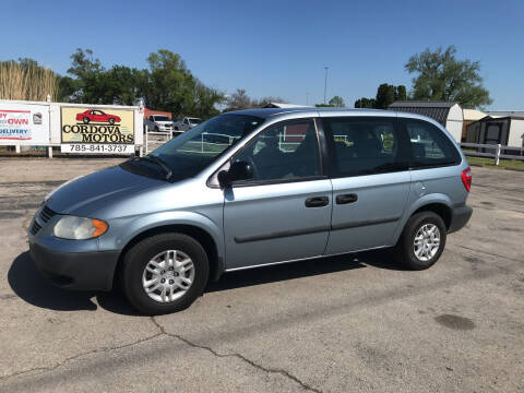 2006 Dodge Caravan for sale at Cordova Motors in Lawrence KS