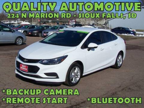 2017 Chevrolet Cruze for sale at Quality Automotive in Sioux Falls SD