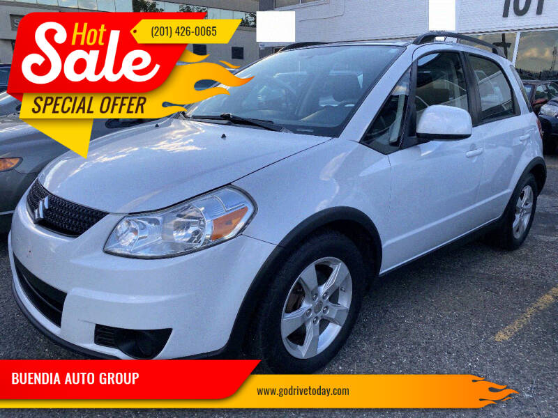 2012 Suzuki SX4 Crossover for sale at BUENDIA AUTO GROUP in Hasbrouck Heights NJ