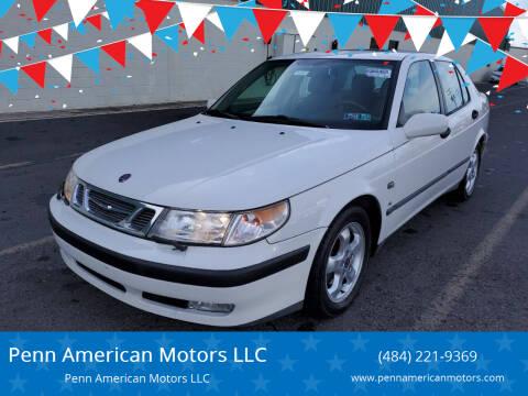 2001 Saab 9-5 for sale at Penn American Motors LLC in Allentown PA