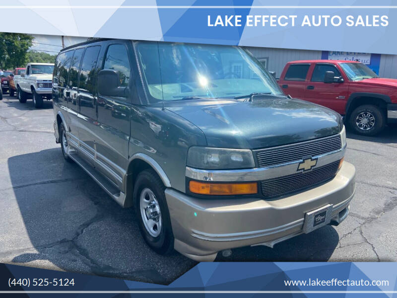 2005 Chevrolet Express Cargo for sale at Lake Effect Auto Sales in Chardon OH