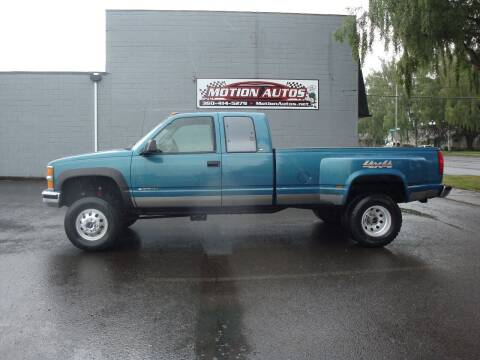 1998 Chevrolet C/K 3500 Series for sale at Motion Autos in Longview WA