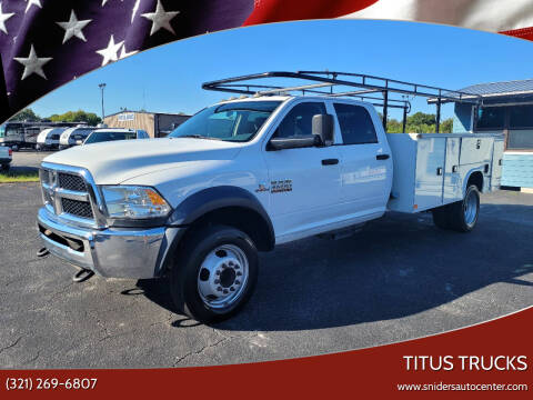2017 RAM Ram Chassis 4500 for sale at Titus Trucks in Titusville FL
