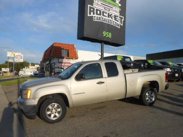 2007 GMC Sierra 1500 for sale at Rocket Car sales in Covina CA