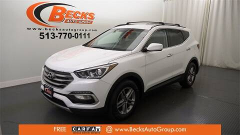 2017 Hyundai Santa Fe Sport for sale at Becks Auto Group in Mason OH