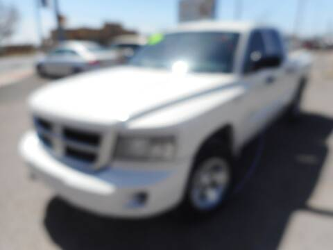 2009 Dodge Dakota for sale at AUGE'S SALES AND SERVICE in Belen NM