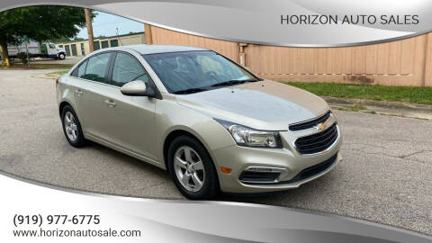 2016 Chevrolet Cruze Limited for sale at Horizon Auto Sales in Raleigh NC