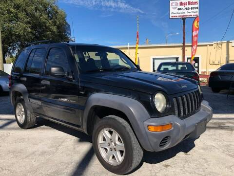 2004 Jeep Liberty for sale at Mego Motors in Orlando FL