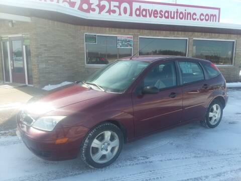 2007 Ford Focus for sale at Dave's Auto Sales & Service in Weyauwega WI