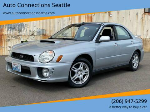 2002 Subaru Impreza for sale at Auto Connections Seattle in Seattle WA