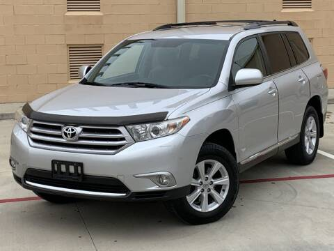 2012 Toyota Highlander for sale at Executive Motor Group in Houston TX