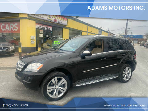 2010 Mercedes-Benz M-Class for sale at Adams Motors INC. in Inwood NY