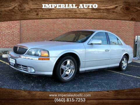 2001 Lincoln LS for sale at Imperial Auto of Marshall in Marshall MO
