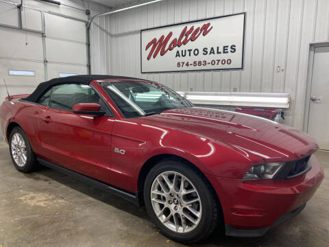 2011 Ford Mustang for sale at MOLTER AUTO SALES in Monticello IN