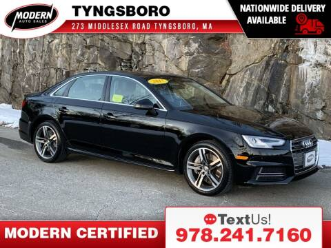 2017 Audi A4 for sale at Modern Auto Sales in Tyngsboro MA