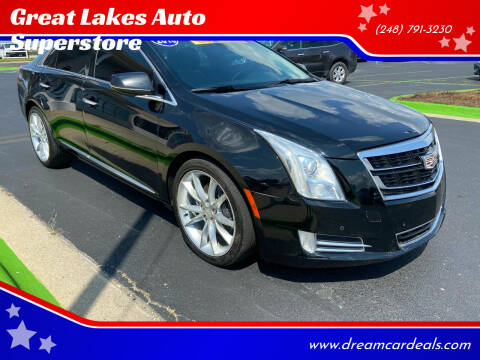2016 Cadillac XTS for sale at Great Lakes Auto Superstore in Waterford Township MI