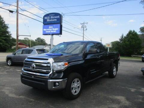 2017 Toyota Tundra for sale at Mill Street Motors in Worcester MA
