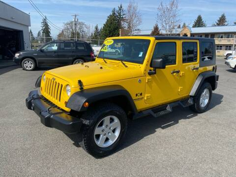 2009 Jeep Wrangler Unlimited for sale at Vista Auto Sales in Lakewood WA