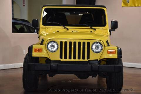 2004 Jeep Wrangler for sale at Tampa Bay AutoNetwork in Tampa FL