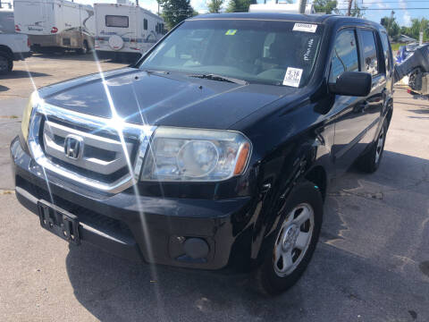 2011 Honda Pilot for sale at Outdoor Recreation World Inc. in Panama City FL