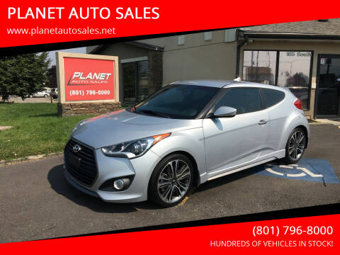2016 Hyundai Veloster for sale at PLANET AUTO SALES in Lindon UT