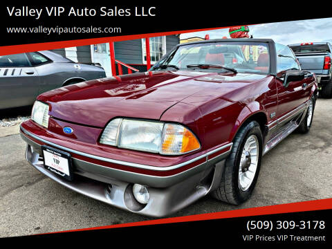 1989 Ford Mustang for sale at Valley VIP Auto Sales LLC in Spokane Valley WA