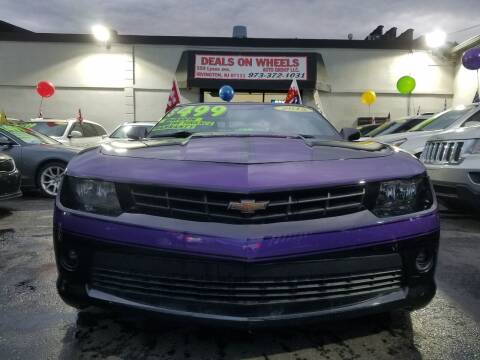 2015 Chevrolet Camaro for sale at Deals On Wheels Auto Group in Irvington NJ