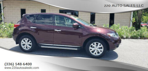 2014 Nissan Murano for sale at 220 Auto Sales LLC in Madison NC