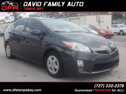 2010 Toyota Prius for sale at David Family Auto in New Port Richey FL