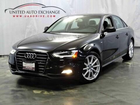 2014 Audi A4 for sale at United Auto Exchange in Addison IL