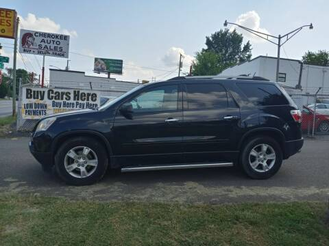 2011 GMC Acadia for sale at Cherokee Auto Sales in Knoxville TN