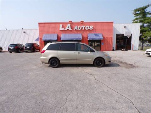 2006 Toyota Sienna for sale at L A AUTOS in Omaha NE
