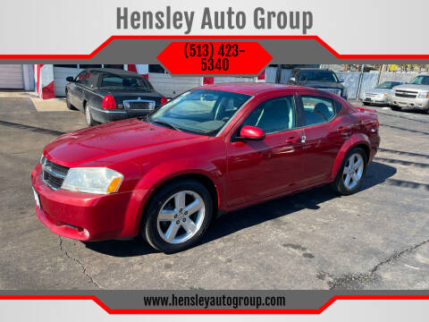 2010 Dodge Avenger for sale at Hensley Auto Group in Middletown OH